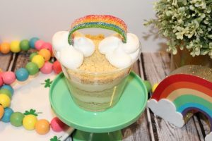 Golden Rainbow Dirt Cup