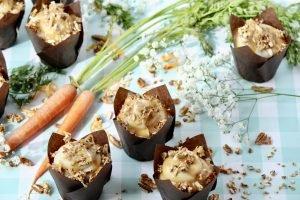 Salty & Sweet Carrot Cake Cupcake